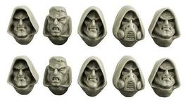 Spellcrow 28mm Space Knights: Space Knights Hooded Heads