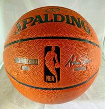 DONOVAN MITCHELL / UTAH JAZZ / AUTOGRAPHED FULL SIZE NBA LOGO BASKETBALL / COA image 3