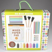 Kid Made Modern Art Supply Collection 30+ Pieces Painting Coloring Craft Set NIB image 2