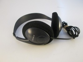 Vintage SONY MDR-201 Black Wired Stereo Headphones Over Ear Lightweight - $18.80