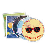 Pack of 5 Bonanza Stickers - £3.67 GBP