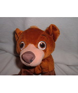 "Brother Bear 2003 Hasbro Koda Stuffed Toy Animal Character Sitting Sits 10"" - $8.00"