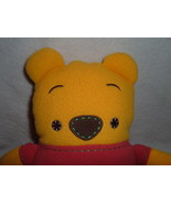 Disney Winnie the Pooh works Stuffed Plush Toy Toddler Bear Style - $8.00