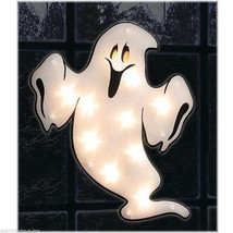 Halloween Lighted Window Ghost Decoration Kids Love It Holiday Spooky Decor - €27,77 EUR