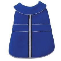 Casual Canine Polyester Thermal Fleece Dog Jacket, X-Small, 10-Inch, Blue - $19.95