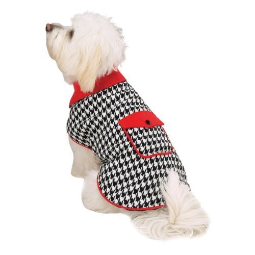 East Side Collection Polyester Reversible Houndstooth Coat, XX-Small [Misc.] - $16.99