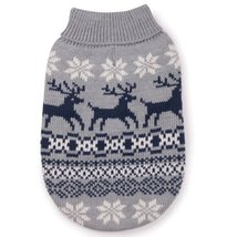 East Side Collection Acrylic Caribou Creek Dog Sweater, XX-Small, 8-Inch... - $14.85