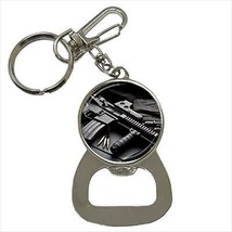 M16 Machine Gun Bottle Opener Keychain - $6.74