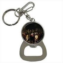 Rembrandt the Night Watchman Bottle Opener Keychain - $6.74