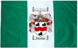 Allardyse Coat of Arms Flag / Family Crest Flag - $29.99