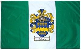 Dolmin Coat of Arms Flag / Family Crest Flag - $29.99