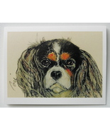 Cavalier King Charles Spaniel Note Cards Dog Art Solomon - $12.50