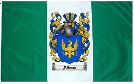 Atienza- Coat of Arms Flag / Family Crest Flag - $29.99