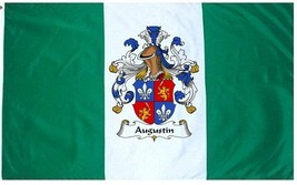 Augustin Coat of Arms Flag / Family Crest Flag - $29.99