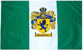 Baumeister Coat of Arms Flag / Family Crest Flag - $29.99