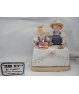 Denim Days Happy Birthday Figurine - $23.36