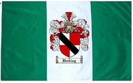 Becking Coat of Arms Flag / Family Crest Flag - $29.99