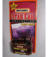 Matchbox Knight Rider K.I.T.T. Star Car Collection In Original Packaging... - $8.00