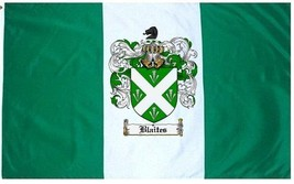 Blaites Coat of Arms Flag / Family Crest Flag - $29.99