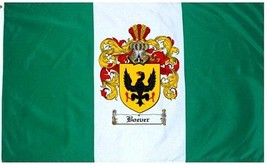 Boever Coat of Arms Flag / Family Crest Flag - $29.99