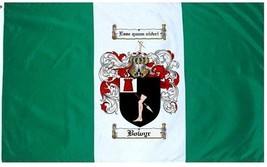 Bowyr Coat of Arms Flag / Family Crest Flag - $29.99
