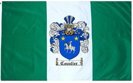 Cavalier Coat of Arms Flag / Family Crest Flag - $29.99