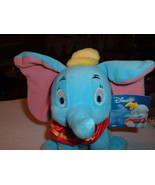 Disney Elephant Dumbo Plush Stuffed Toy Animal Character New with Tag - $9.00