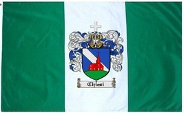 Chiesi Coat of Arms Flag / Family Crest Flag - $29.99