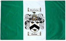 Cootes Coat of Arms Flag / Family Crest Flag - $29.99