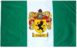 Cosgriff Coat of Arms Flag / Family Crest Flag - $29.99