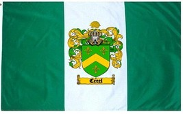 Creel Coat of Arms Flag / Family Crest Flag - $29.99