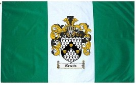 Creeds Coat of Arms Flag / Family Crest Flag - $29.99