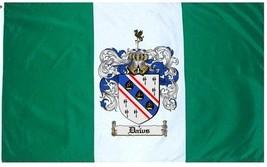 Daws Coat of Arms Flag / Family Crest Flag - $29.99