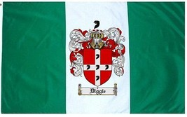 Diggle Coat of Arms Flag / Family Crest Flag - $29.99