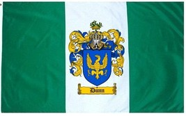 Dunn Coat of Arms Flag / Family Crest Flag - $29.99