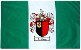 Eestman Coat of Arms Flag / Family Crest Flag - $29.99