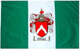 Effinger Coat of Arms Flag / Family Crest Flag - $29.99