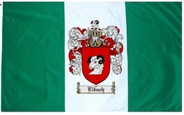 Eibach Coat of Arms Flag / Family Crest Flag - $29.99