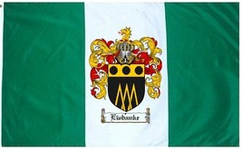 Ewbanke Coat of Arms Flag / Family Crest Flag - $29.99