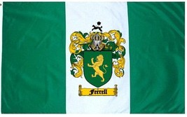 Ferrell Coat of Arms Flag / Family Crest Flag - $29.99