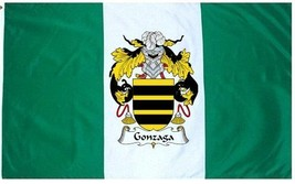 Gonzaga Coat of Arms Flag / Family Crest Flag - $29.99