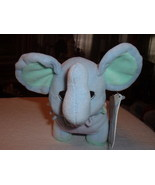 Precious Moments Tender Tails Age 4 Elephant Plush Stuffed Toy Doll Anim... - $7.00