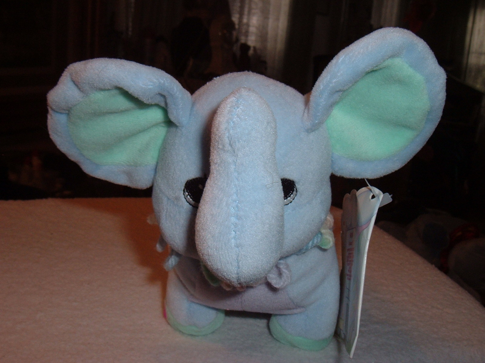 Precious Moments Tender Tails Age 4 Elephant Plush Stuffed Toy Doll Animal w/Tag image 5