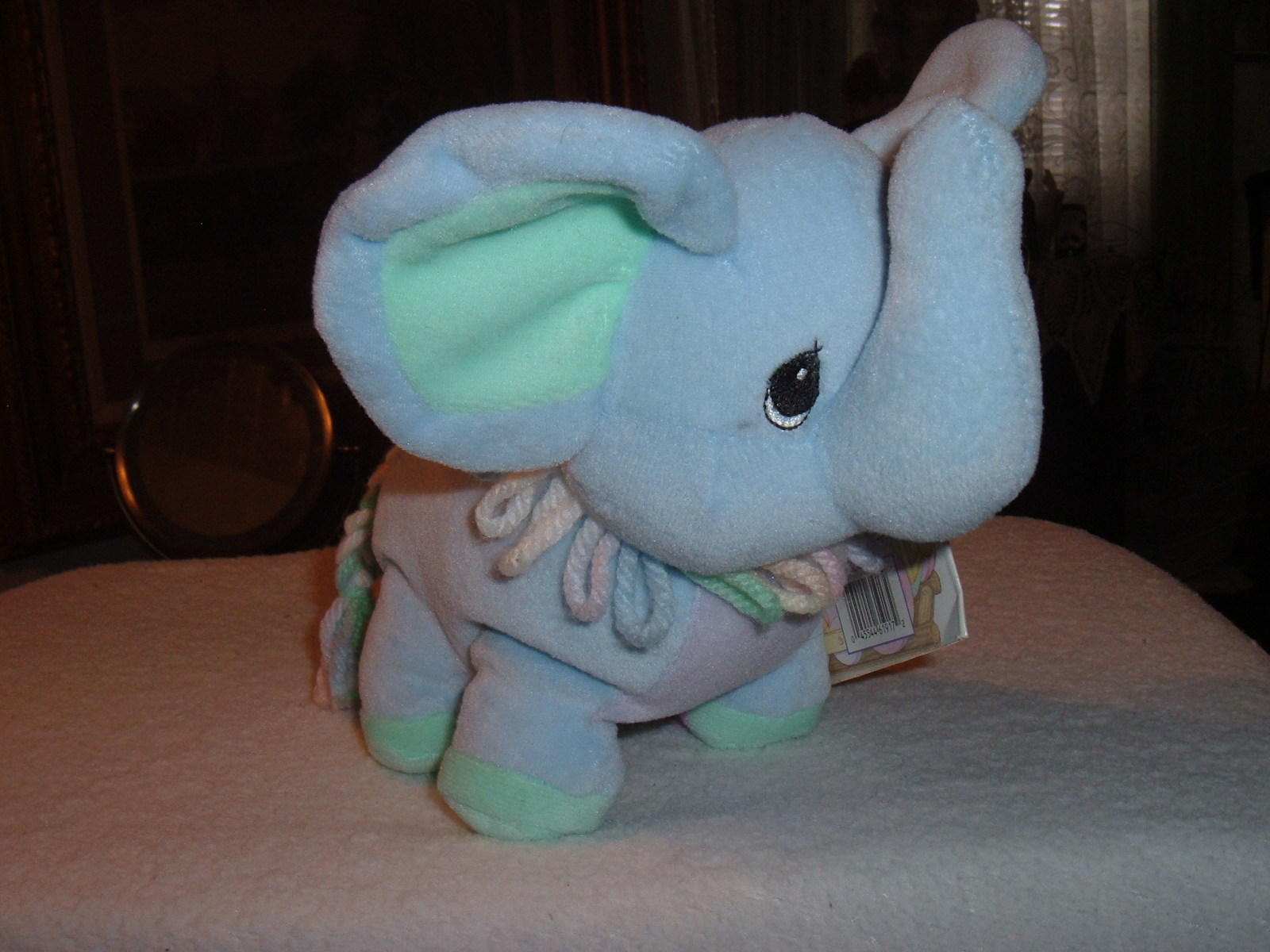 Precious Moments Tender Tails Age 4 Elephant Plush Stuffed Toy Doll Animal w/Tag image 6