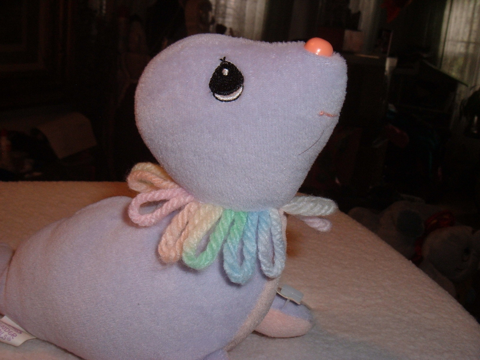 Precious Moments Tender Tails Age 2 Seal Plush Stuffed Toy Character Animal &Tag image 5
