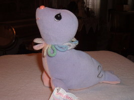 Precious Moments Tender Tails Age 2 Seal Plush Stuffed Toy Character Animal &Tag image 6