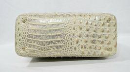 NWT Brahmin Large Leather Duxbury Satchel/Shoulder Bag in Silver Birch Melbourne image 8