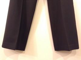Larry Levine Ladies Stretch Black Dress Pants, size 12, Polyester Spandex blend image 4