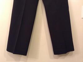 Larry Levine Ladies Stretch Black Dress Pants, size 12, Polyester Spandex blend image 6