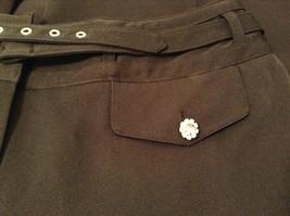 Larry Levine Ladies Stretch Black Dress Pants, size 12, Polyester Spandex blend image 7
